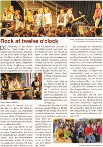 Aus: Westwind - Stadtteilmagazin für Osdorf und Umgebung, Ausgabe August 2012