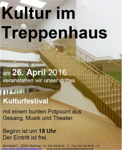 Kultur im Treppenhaus Flyer 2016